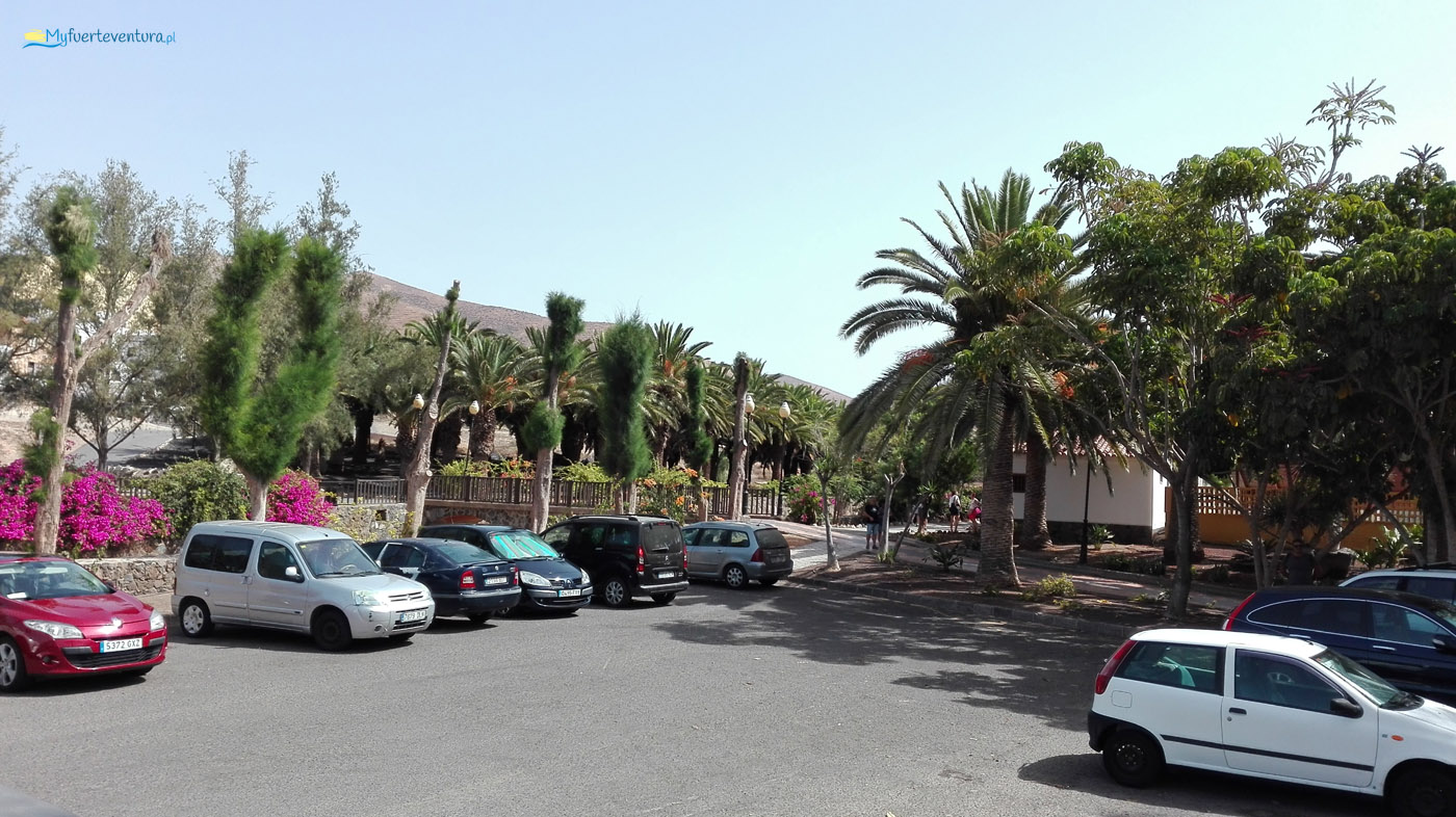 Pajara - parking