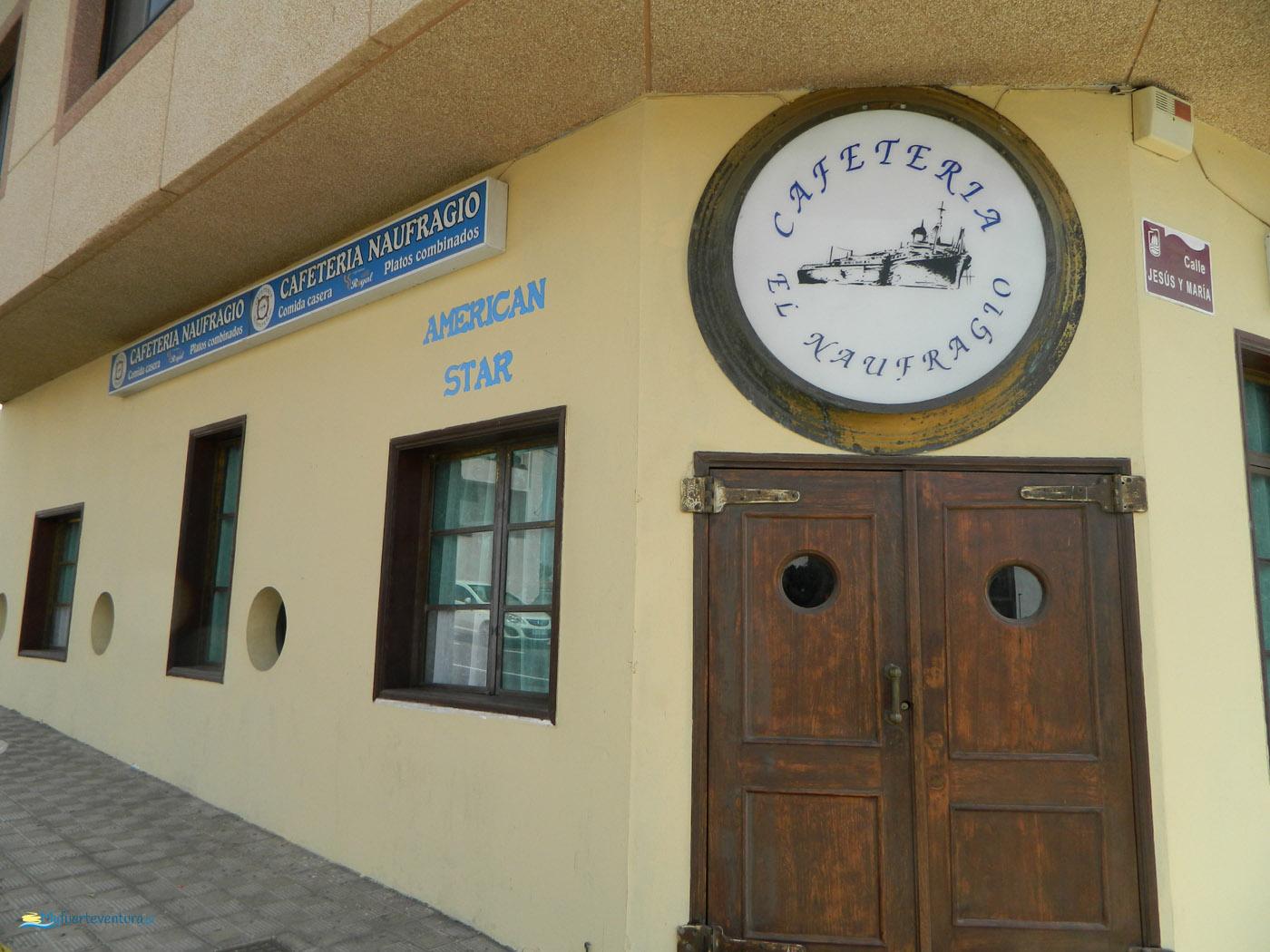 Puerto del Rosario - Cafeteria el Naufragio