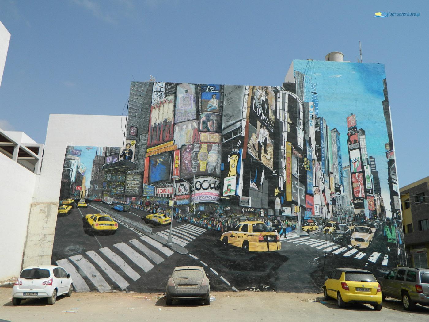 Puerto del Rosario - mural